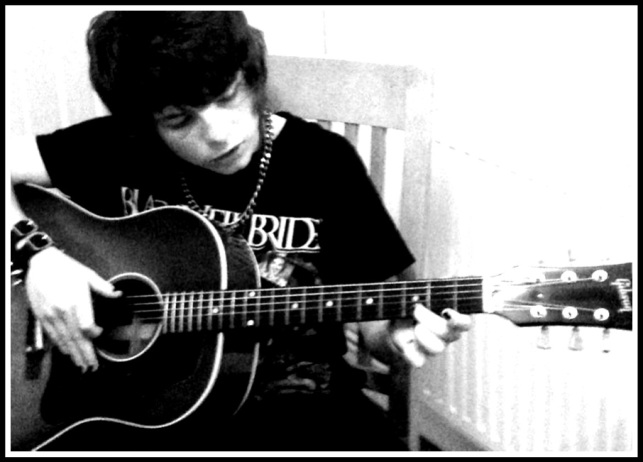 Alfie playing 1960 Gibson J45