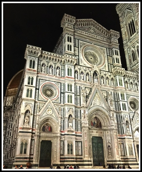 Florence Cathedral by night 2