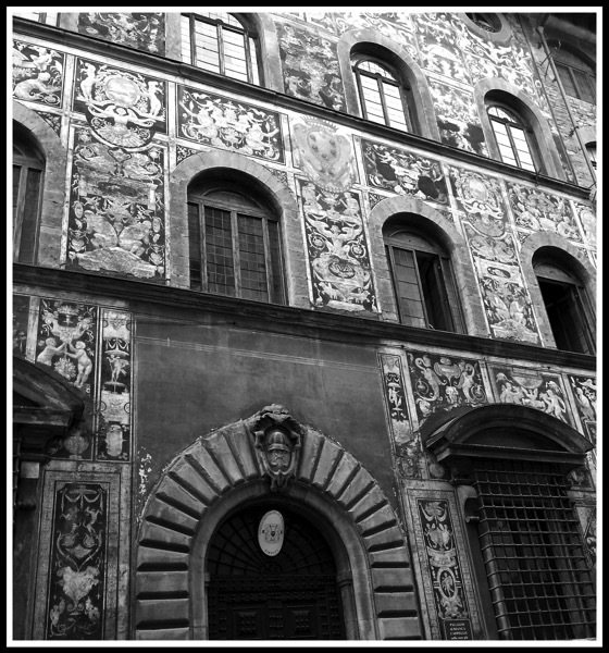 Florence side street building