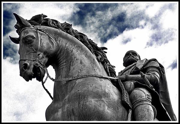 Medici horse rider  Sky fx