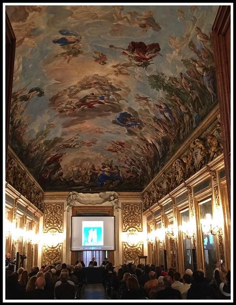 an increible fresco ciellin g