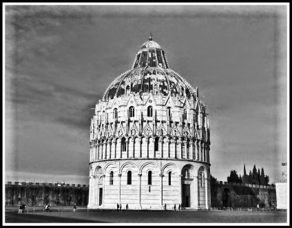 #5 The Pisa Baptistry Of St. John