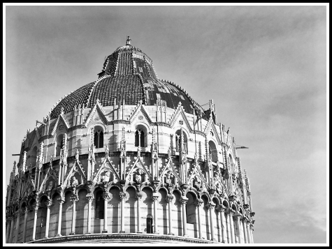 #4 The Pisa Baptistry Of St. John