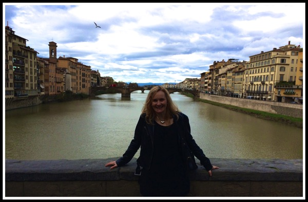 Sarah by the River Arno