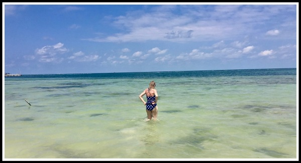 5 SARAH IN SEA