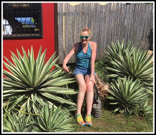 6 Roatan Sarah and the Spick Plant