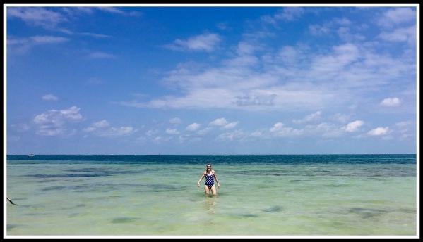 6 SARAH IN SEA