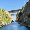 Corinth canal, Greece July 2017