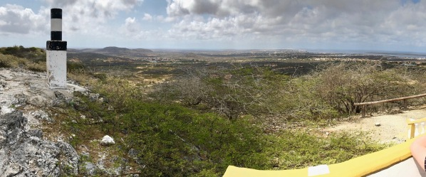 Panorama of the island of Bonaire
