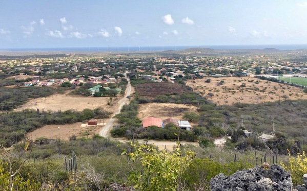 view overlooking the island of Bonaire